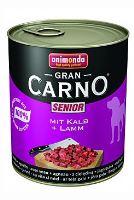 Animonda Gran Carno Senior Konzerva - telecí & jehněčí 800 g