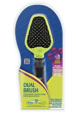 Furminator Dual Brush Oboustranný kartáč pro psy
