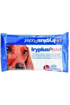 Icf Iryplus Dezinfekční ubrousky na oči psů a koček 15 ks