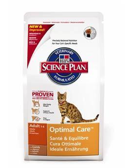 Hill's Feline Dry Adult Lamb & Rice - jehněčí & rýže