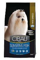 CIBAU Dog Adult Sensitive Fish&Rice Mini 2,5kg