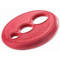 Rogz RFO Létající talíř pryžový pro psy červený, průměr 23 cm