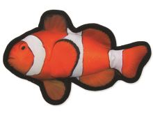 Dog Fantasy textilní ryba klaun 26 cm