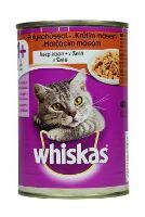 Whiskas konzerva krůta v želé 400g