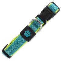 Obojek ACTIV DOG Fluffy Reflective tyrkysový S 1ks