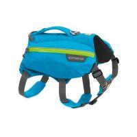 Ruffwear ruksak pro psy, Singletrak Pack, modrý, velikost M