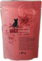 Catz Finefood No.3 Kapsička - drůbež pro kočky 85 g