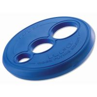Rogz RFO Létající talíř pryžový pro psy modrý, průměr 23 cm