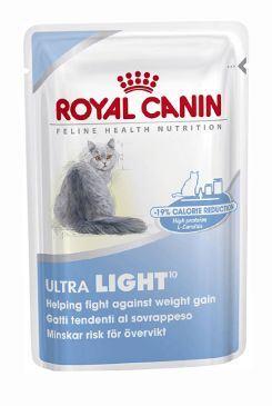 Royal Canin Feline Ultra Light - kapsička maso v želé pro kočky se sklonem k nadváze 85 g