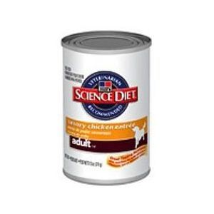 Hill's Science Plan Canine Adult Chicken konzerva - kuřecí 370 g