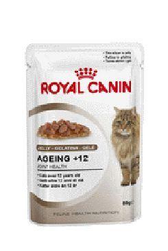 Royal Canin Feline Ageing +12 - kapsička maso v želé pro kočky od 12 let 85 g