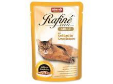 Animonda Rafine Soupe Kapsička - drůbež v krémové omáčce pro dospělé kočky 100 g