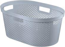 Curver Koš na čisté prádlo INFINITY 39L šedý puntíky