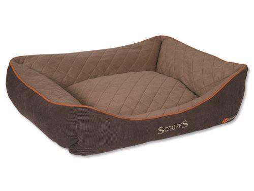 Scruffs Thermal Box Bed Termální pelíšek hnědý - velikost XL, 90x70 cm