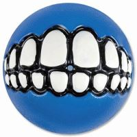 Rogz hračka pes Balon Grinz guma modrý