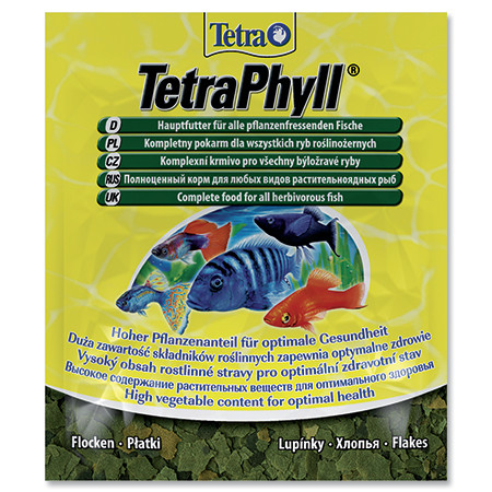 Tetra Phyll vločkové krmivo pro býložravé ryby