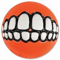 Rogz hračka pes Balon Grinz guma oranžový - L