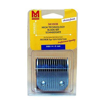 Moser Max 1245 Náhradní hlava stříhací pro psy, 9 mm
