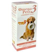 Omega3 Pets Lososový olej doplněk stravy pro psy pro kvalitní srst a podporu imunitního systému 125 ml