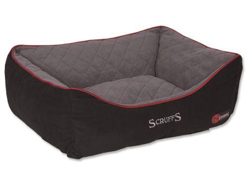 Scruffs Thermal Box Bed Termální pelíšek černý - velikost L, 75x60 cm
