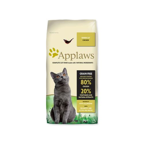 Krmivo APPLAWS Dry Cat Senior
