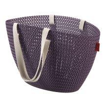 Curver KNIT taška Emily fialová