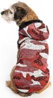 Samohýl Exclusive Svetr Bork zateplený červeno- růžový 45 cm