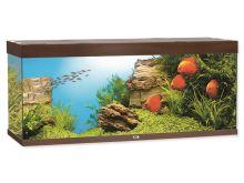 Juwel Rio 400 akvárium set tmavě hnědý 151x51x66 cm, objem 400 l