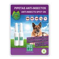 Menforsan Antiparazitní pipety proti blechám a klíšťatům pro psy - 2 x 1,5 ml