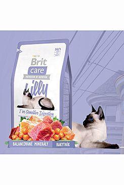 Brit Care Cat Lilly I`ve Sensitive Digestion - jehněčí & losos pro kočky s citlivým zažíváním