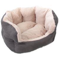 Pelíšek DOG FANTASY Comfy1 šedý 46 cm 1ks