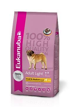 Eukanuba Adult Medium Light / Weight Control 15 kg