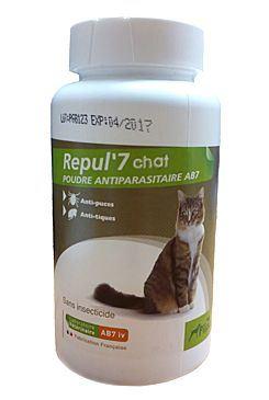 Repul 7 Repelentní pudr pro kočky 150 g