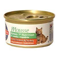 Hill's Feline Kitten Mousse - drůbeží pěna pro koťata 85 g