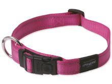 Obojek pro psa nylonový - Rogz Utility - růžový - 1,1 x 20 - 32 cm