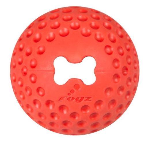 Rogz Gumz gumový míček pro psy plnicí červený