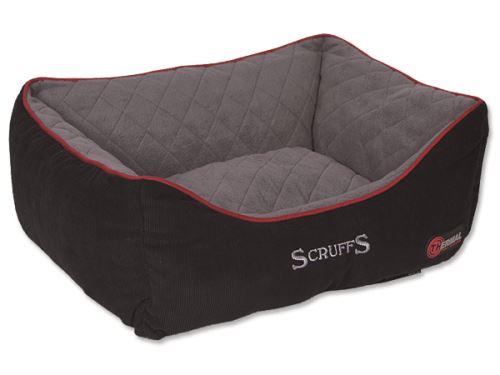 Scruffs Thermal Box Bed Termální pelíšek černý - velikost S, 50x40 cm