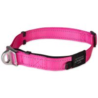 Obojek ROGZ Safety Collar růžový XL 1ks