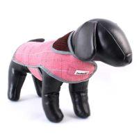 Doodlebone kabát, Tweedie, růžový, velikost XL