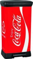 Curver odpadkový koš, vzor Coca-Cola, 50l