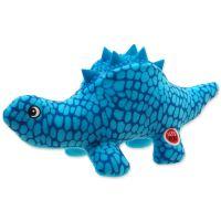 Hračka LET`S PLAY dinosaurus modrý 25 cm