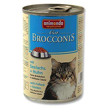 Animonda Brocconis Konzerva - treska & kuře pro dospělé kočky 400 g