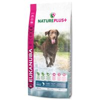 EUKANUBA Nature Plus+ Adult Large Breed Rich in freshly frozen Salmon