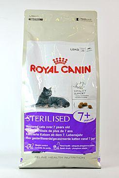 Royal Canin Feline Sterilised 7+ - pro dospělé kastrované kočky nad 7 let 400 g