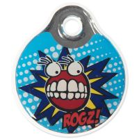 Známka ROGZ ID Tagz Comic Turqouse L