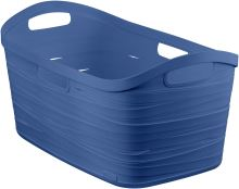 Curver Koš na čisté prádlo RIBBON 40l modrý