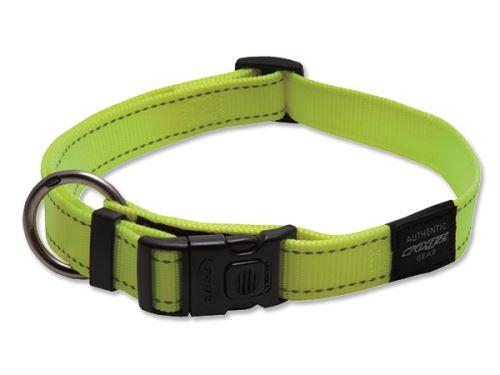 Obojek pro psa nylonový - Rogz Utility - žlutý - 2,5 x 43 - 70 cm