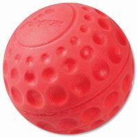 Rogz Asteroid Míček pěnový pro psy červený