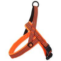 Postroj ACTIVE DOG Neoprene oranžový S/M 1ks
