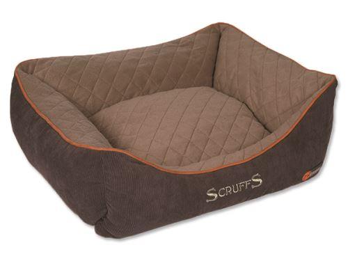 Scruffs Thermal Box Bed Termální pelíšek hnědý  - velikost S, 50x40 cm